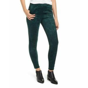 Blank NYC Faux Suede High Rise Leggings